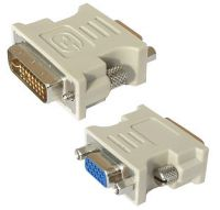 Adapteris DVI-A 24pin male/VGA