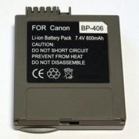 Akumulators (analogs) CANON BP-406