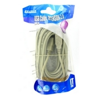 4world USB Extension Cable 2.0