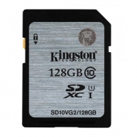 Kingston 128GB SDXC Class10 UHS-I