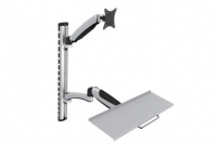 Digitus Flexible Wall Mount, 1xLCD+keyboard,