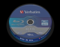 Verbatim BluRay BD-R DUAL LAYER