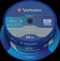 Verbatim BluRay BD-R Single layer