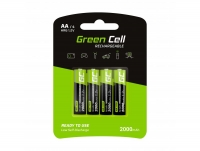 Green cell 4x Akumulator AA HR6