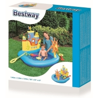 Bestway Inflatable pool Ship 140 x