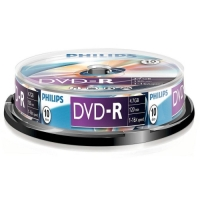 Philips DVD-R 4.7GB cake box 10