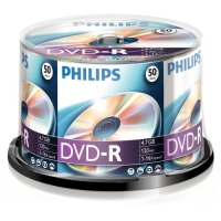 Philips DVD-R 4.7GB CAKE BOX 50