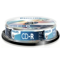 Philips CD-R 80 700mb cake box 10