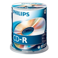 Philips CD-R 80 700MB CAKE BOX 100