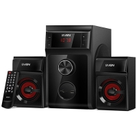 Sven MS-302, 2.1 speakers, black,
