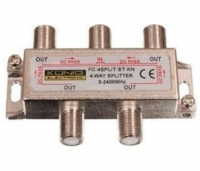 (FC-4SPLIT-ST) OEM TV spliteris uz