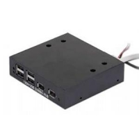 HUB USB internal 4port + 2 firewire Gembird