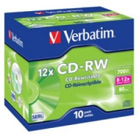 CD-RW 80min/700Mb 8-12x jewel