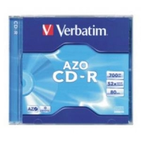 CD-R 80min/700Mb/x52 (jewel) AZO