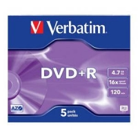 DVD+R 120min/4.7Gb/x16 (jewel) AZO