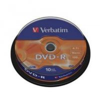Verbatim DVD+R 4.7GB 16X 10pack