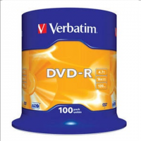 Verbatim DVD-R 4.7GB 16X 100pack
