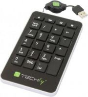 Techly USB numeric keypad 23 keys