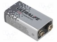 (BAT-6F22-UL) Ultralife Battery: