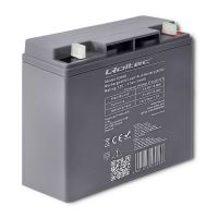 Qoltec Battery AGM | 12V | 17Ah |