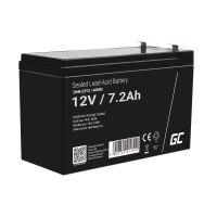 Green cell Battery AGM 12V 7.2AH
