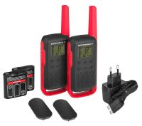 Motorola T62 PMR 446 RED
