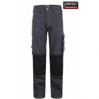 Pesso Trousers  Stretch darkgrey