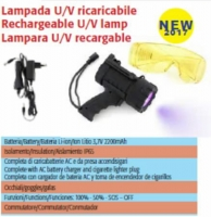 Spin Rechargeable UV lamp with