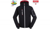Pesso Softshell jacket with hoodie