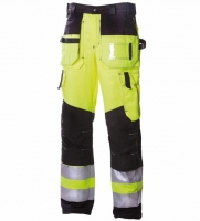 Dimex Hi.Vis trousers  6310 yellow/black,