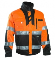 Dimex Hi-Viz jacket  6019 Orange/Black M,