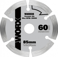 Worx Diamond blade, 85mm. WX423