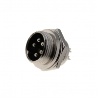 MIC335  Socket microphone male