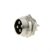 MIC334  Socket microphone male